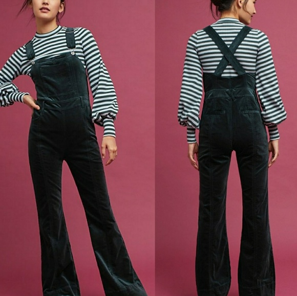 99cfeffeddc7 Anthropologie Other - Pilcro Velvet Overalls